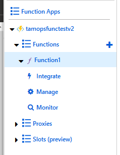 Azure Functions:- Creating a PowerShell Function v2 using Azure CLI